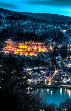 Heidelberg, Germany. This is where my family lives. I know, it's not fair..