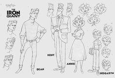 Kent, Dean, Annie, and Hogarth