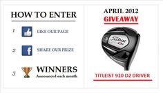 Like our Facebook page http://www.facebook.com/mygolfmembership?ref=tn_tnmn to have a chance to win this driver.