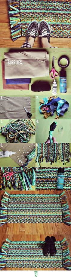 How to Make a Beautiful Braided Rug – DIY