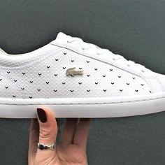cheap for discount a53f9 e62c5 Lacoste Shoes Women, Lacoste Sneakers, White Sneakers, Shoes Sneakers, Icon  Shoes,