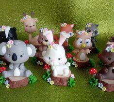 Fondant, Design Art, Cake Decorating, Polymer Clay, Candles, Christmas Ornaments, Holiday Decor, Amelie, Bambi