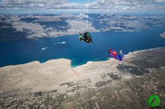 Tandem skydiving, climbing, kayaking, flying and more adrenaline tours. Book active holiday on amazing location with top rated adventure company in Croatia. Skydiving, Tandem, Croatia, Kayaking, Mount Everest, National Parks, Tours, Vacation, Kayaks