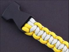 A Simple Means of Attaching Buckles to a Paracord Tie by TIAT - YouTube