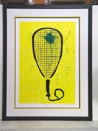 Racquetball art