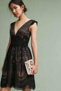 Slide View: 1: Buckingham Lace Dress