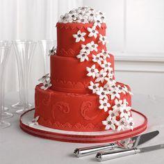 gateau-mariage-rouge