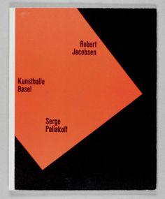 Robert Jacobsen - Serge Poliakoff-Buchgestaltung/Buchkunst