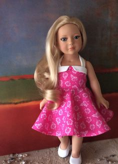 A personal favorite from my Etsy shop https://www.etsy.com/listing/500170900/american-made-18-inch-girl-doll-clothing