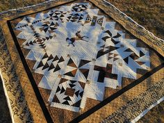 I have no words, this quilting and quilt is just gorgeous! Judi at Green Fairy quilts is just the best!