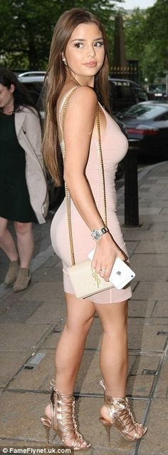 Out and about: She recently stepped out for a night of dining with her pals...