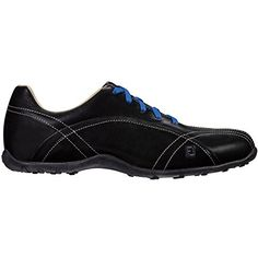 FootJoy Womens Casual Collection Spikeless Golf Shoes Closeout 65 BM US Black -- Continue to the product at the image link. (This is an affiliate link) Best Golf Shoes, Spikeless Golf Shoes, Womens Golf Shoes, Womens Shoes Wedges, Vans Shoes, Shoes Women, Shoes 2016, Ladies Golf, Vintage Shoes