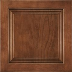 Shenandoah Orchard 14.5-In X 14.5625-In Spice Cherry Square Cabinet Sample 97824