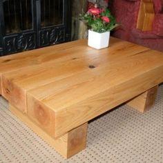 10-x-Rustic-Oak-beam-coffee-table-0