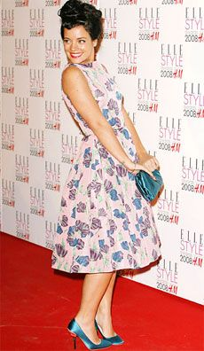Lily Allen. Major influence on my style.
