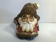 Vintage Holiday, Santa, Carving, Hand Painted, History, Ebay, Historia, Wood Carvings, Sculptures