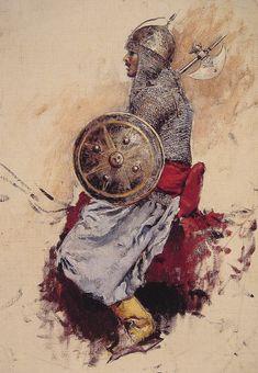 Edwin Lord Weeks, Man in Armour.