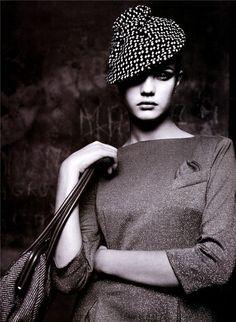 Belle De Nuit   Natalia Vodianova   Friedemann Hauss #photography   Marie Claire Australia March 2001