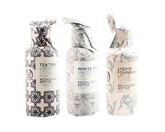 Packaging BodyShop. Packaging makes it feel luxurious. Prints are lovely too.