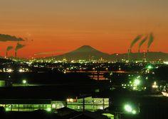 Fuji on a weeknight #japan