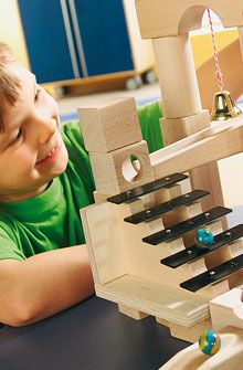 wooden marble tracks | HABA Sloped Tracks Wooden Marble Run Accessory :: Wooden Toys For ...