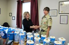 Ethan Valentine earns his Eagle Scout Award