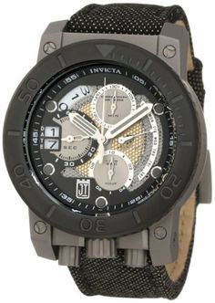 Jason Taylor for Invicta Collection 13051 Chronograph Black and Silver Tone Perforated Dial Black Fabric Watch Invicta. Save 85 Off!. $442.80. Water-resistant to 1000 M (3280 feet). Chronograph functions with 60 second, 30 minute, 10 hour and 1/10th of a second silver tone subdials with silver tone hands; day function between 2:00 and 4:00 and date function at 9:00. Black and silver tone perforated dial with silver tone hands and silver tone and black hour markers; luminous; blac...