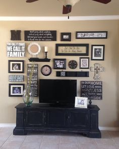 terrific beautiful tv stand. Living Room collage  12 Awesome TV Gallery Walls wall TVs and