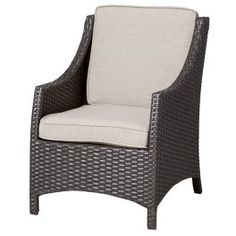Threshold Belvedere WIcker Patio Kids Chair