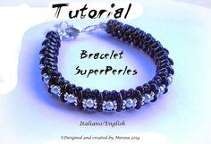 Bracelet SuperPerles  tutorial graphics in by UnMondoSuperSchemi