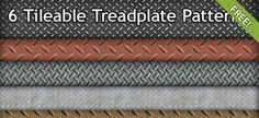6 Free Tileable Treadplate Patterns   Free PSD Files