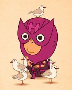 Artista Mike Mitchell Estilo Marvel Cartunesco | Nerd Da Hora