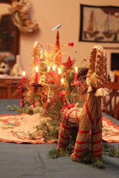Swedish Christmas Table