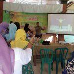 Bhabinkamtibmas Ikut Kampanye Pentingnya Jaga Kebersihan Lingkungan