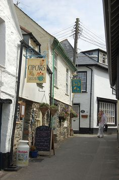 CupCakes Tea Shop in the fishing village of Port Isaac of Doc Martin television series fame.