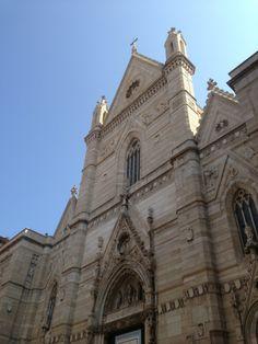 La Cattedrale di Napoli (o Duomo di Napoli), dedicata a Santa Maria Assunta, è la chiesa più importante di Napoli, sede dell'omonima arcidiocesi metropolitana. È tra le più grandi basiliche della città; inoltre, ospita il battistero più antico d'Occidente (il battistero di San Giovanni in Fonte). Il Duomo sorge lungo il lato est della via omonima, in una piazzetta contornata da portici.