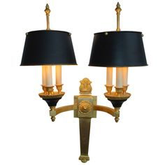 French Sconce   From a unique collection of antique and modern wall lights and sconces at https://www.1stdibs.com/furniture/lighting/sconces-wall-lights/