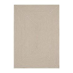Loloi INOUIO-01BE00 In/Out Area Rug, Beige - 7-ft 6-in X 9-ft 6-in