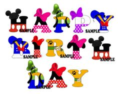 Mickey Mouse Clubhouse Party Printable by blueangeldigitals