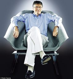 'It will be a minuscule portion of my wealth. It will mean they (his children) have to find their own way. They will be given an unbelievable education... But they will have to pick a job they like and go to work,' said Bill Gates