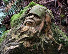Tree sculpture - William Ricketts Sanctuary