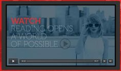 Taylor Swift shared how Reading Opens a World of Possible with Scholastic.  Discussing Reading, Writing and Antibullying.