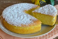 Torta Paradiso ricetta dolce Sweet Recipes, Cake Recipes, Dessert Recipes, Italian Desserts, Italian Recipes, Limoncello, My Favorite Food, Favorite Recipes, Patisserie Sans Gluten