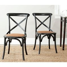 Benchwright Button Tufts Wingback Hostess Chairs (Set of 2) by ...