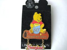 Winnie the Pooh Pin trading pin