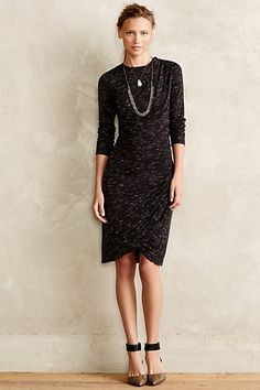Cross Column Knit Dress #anthropologie #anthrofave