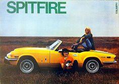 Triumph Spitfire Classic Car Picture Poster Print A1 (Plus TR2,3,4,6,7,Herald) | eBay