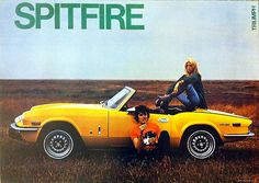 Triumph Spitfire Classic Car Picture Poster Print A1 (Plus TR2,3,4,6,7,Herald)   eBay