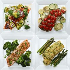 Four Easy Salmon Dinners | The mini and I were just talking about wanting to eat salmon/fish more