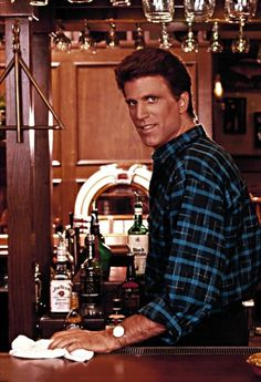 Ted Danson - Sam Malone, Cheers i just fell in love with him lol